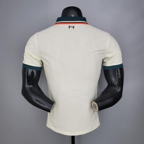 Liverpool Away Player Version Jersey 21/22