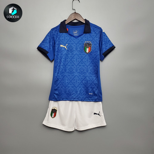 Italy Home Kids Jersey 20/21