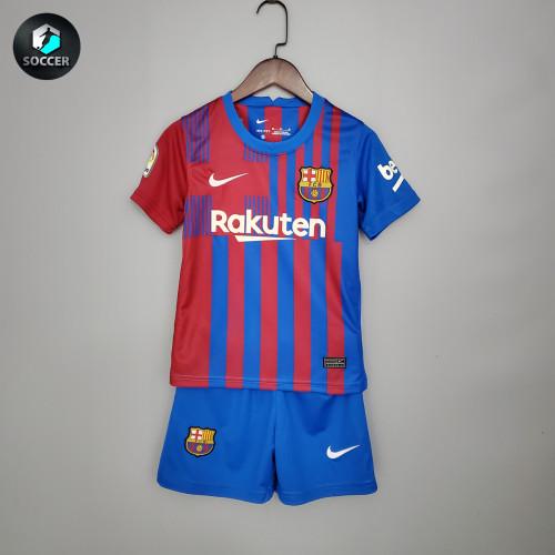 Barcelona Home Kids Jersey 21/22