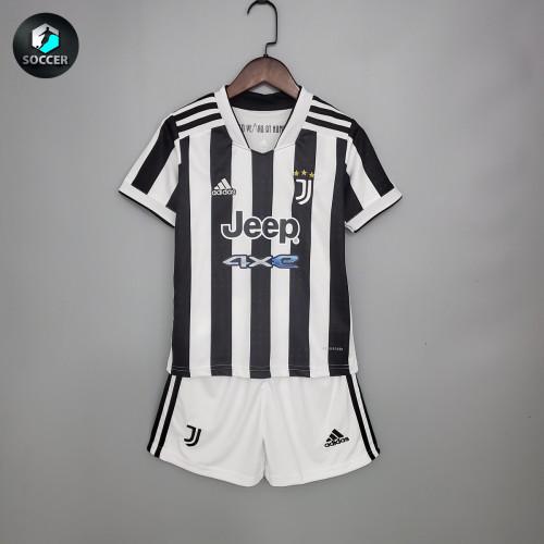 Juventus Home Kids Jersey 21/22