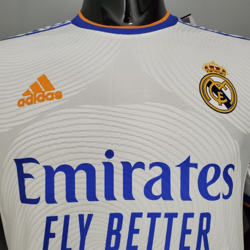 Real Madrid Home Player Jersey 21/22