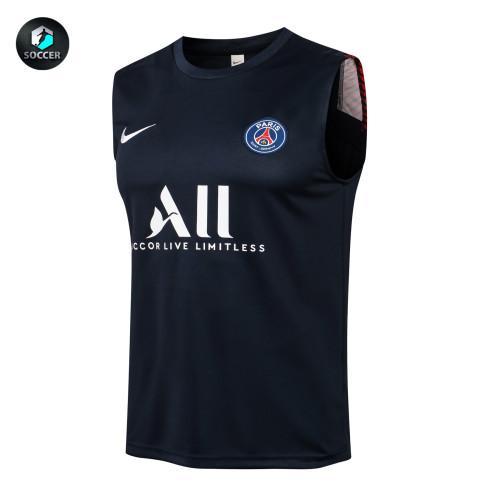 Paris Saint Germain Training Jersey 21/22 Blue