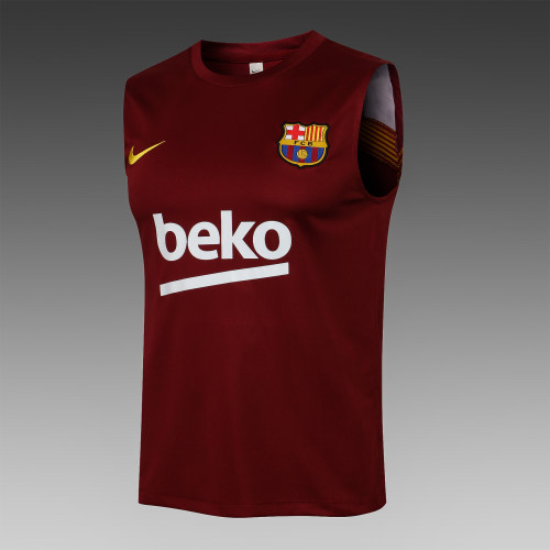Barcelona Training Jersey 21/22 Red