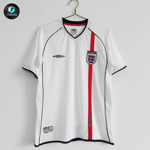 England Retro Home Jersey 2001/03