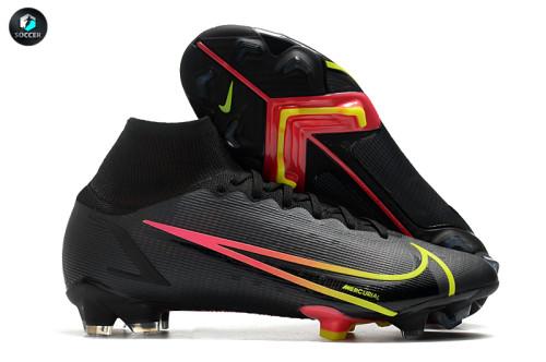 Mercurial Superfly 8 Elite FG Soccer Shoes Black