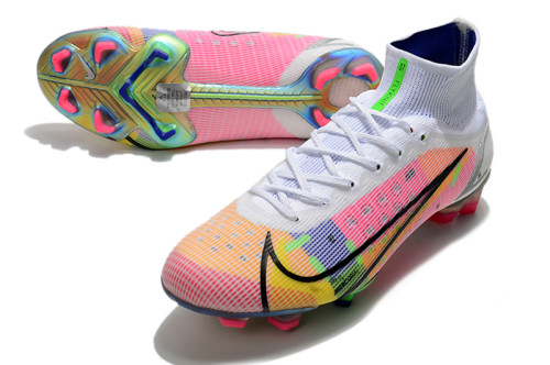 Mercurial Superfly 8 Elite FG Soccer Shoes Pink