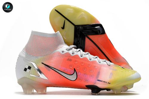 Mercurial Superfly 8 Elite MDS FG Soccer Shoes Orange