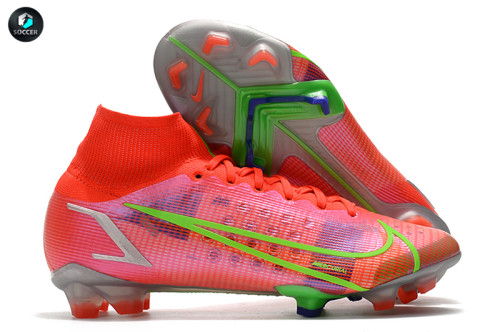 Mercurial Superfly 8 Elite FG Soccer Shoes Red