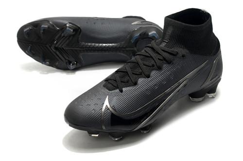 Mercurial Superfly 8 Elite FG Soccer Shoes All Black