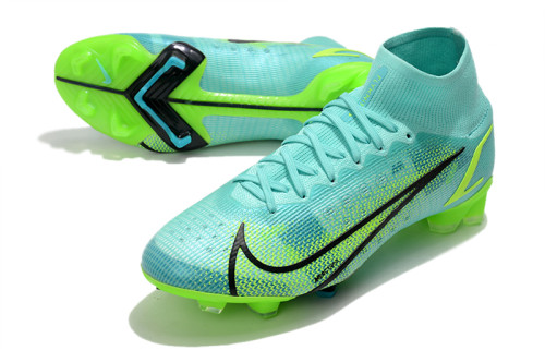 Mercurial Superfly 8 Elite FG Soccer Shoes Green