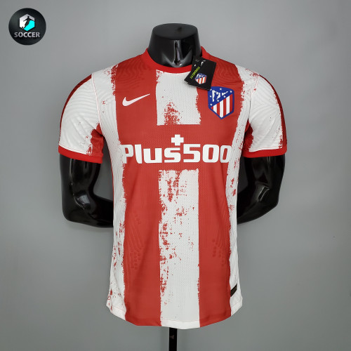 Atletico Madrid Home Player Jersey 21/22