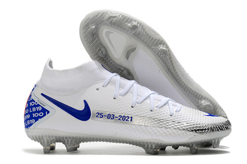 Phantom GT Elite Dynamic Fit FG Soccer Shoes White
