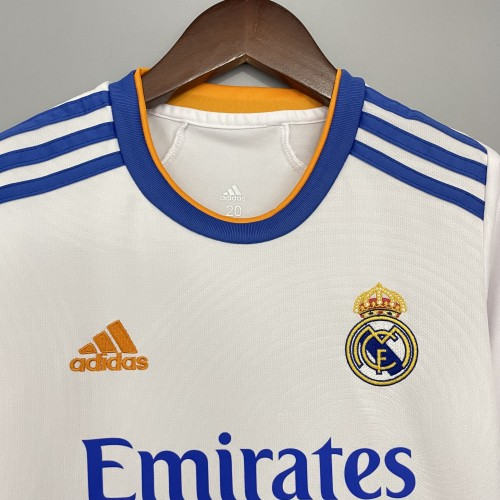 Real Madrid Home Kids Jersey 21/22
