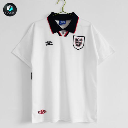 England Retro Home Jersey 1993-95