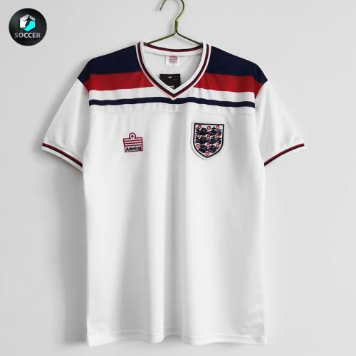 England Retro Home Jersey 1980-83