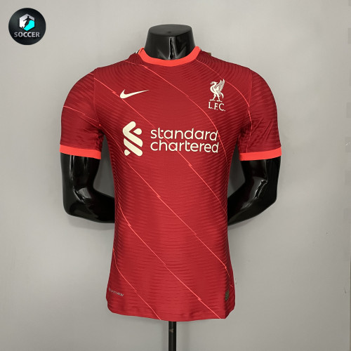 Liverpool Home Player Version Jersey 21/22