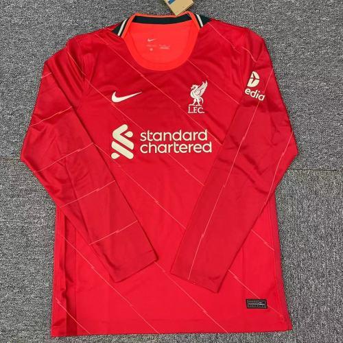 Liverpool Home Man Long Sleeve Jersey 21/22