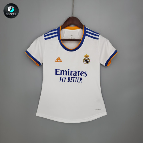 Real Madrid Home Women Jersey 21/22