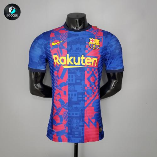Barcelona Third Player Jersey 21/22
