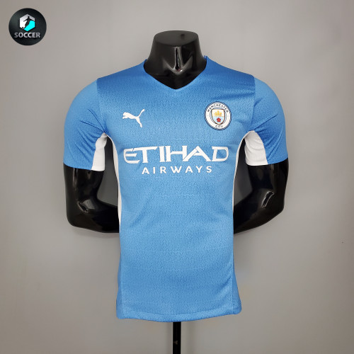 Manchester City Home Player Jersey 21/22