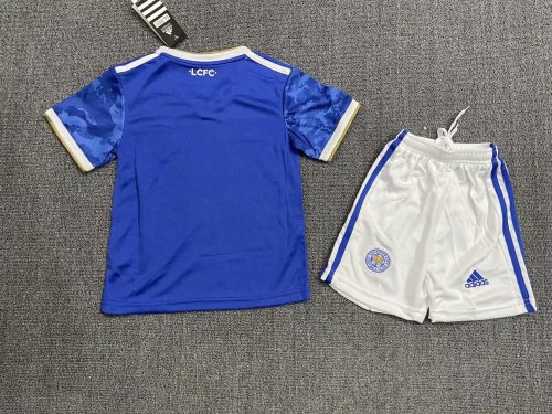 Leicester City Home Kids Jersey 21/22