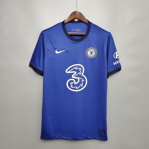 Chelsea 22#PULISIC 10#WILLIAN Home Man Jersey 20/21