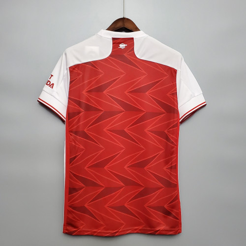Arsenal 14#AUBAMEYANG Home Man Jersey 20/21