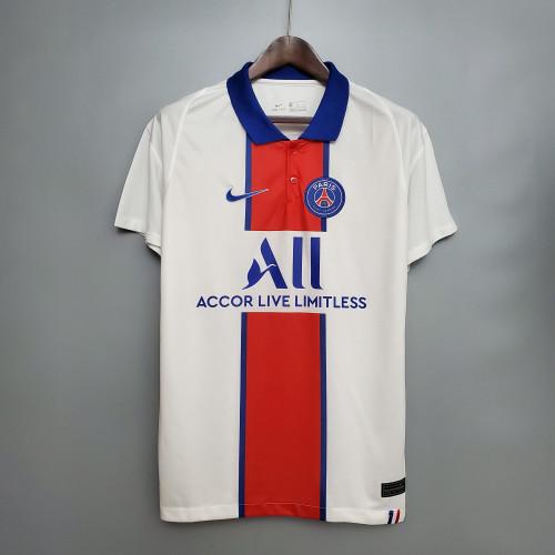 Paris Saint Germain 10#NEYMAR JR 7#MBAPPÉ Away Man Jersey 20/21