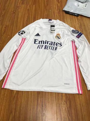 Real Madrid Home MODRIC 10# Man Long Sleeve Jersey 20/21
