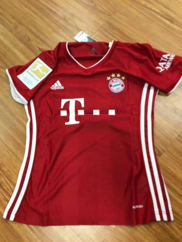 Bayern Munich Home 9#LEWANDOWSKI Women Jersey 20/21