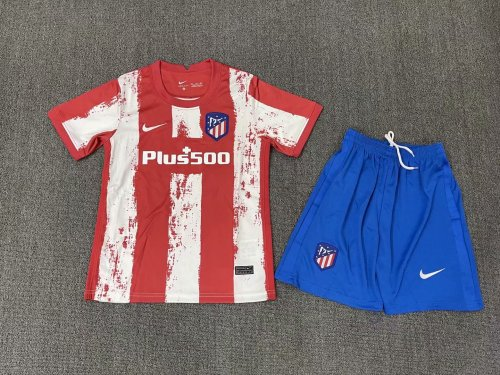 Atletico Madrid Home Kids Jersey 21/22