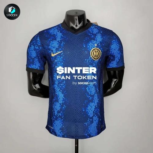 Inter Milan Home Player Jersey 21/22