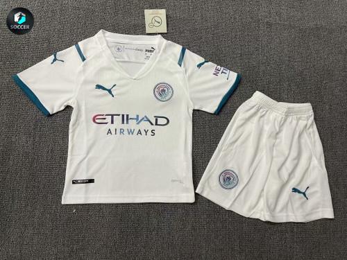 Manchester City Away Kids Jersey 21/22