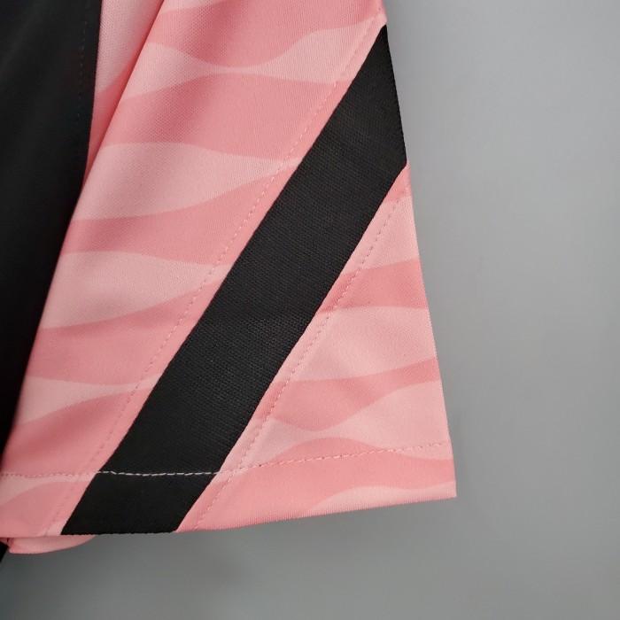 Paris Saint Germain Training Jersey 21/22 Black-Pink