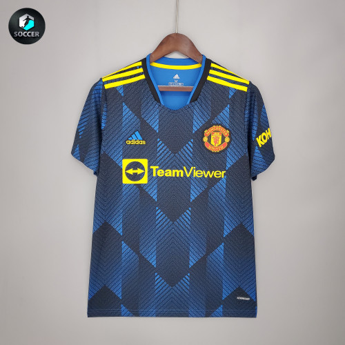 Manchester United Man Third Jersey 21/22