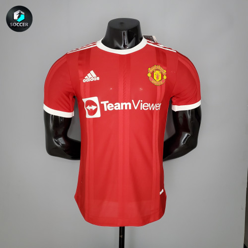 Manchester United Home Player Jersey 21/22
