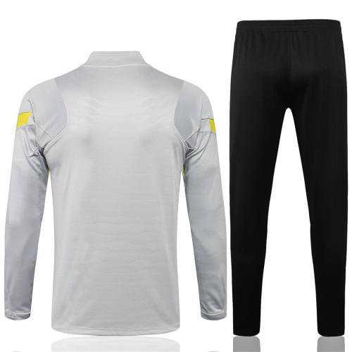 Chelsea Training Jersey Suit 21/22 Light Gray
