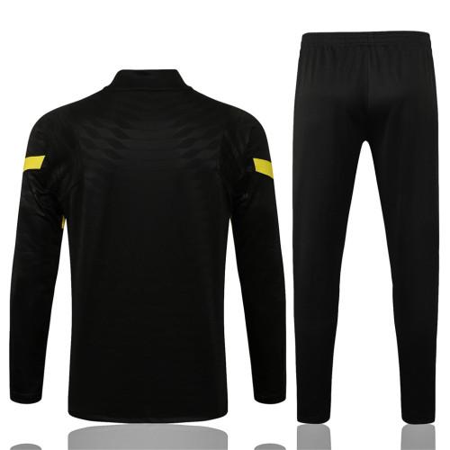 Chelsea Training Jersey Suit 21/22 Black