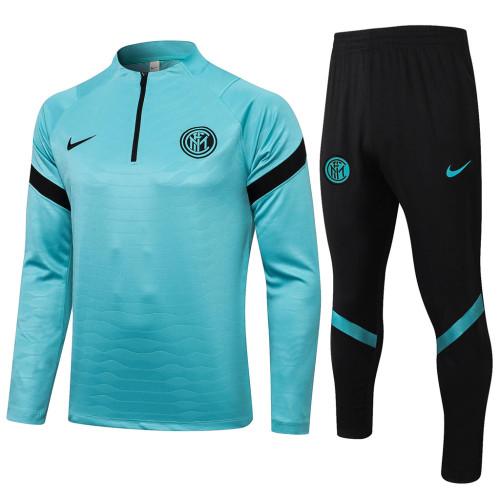 Inter Milan Training Jersey Suit 21/22 Green