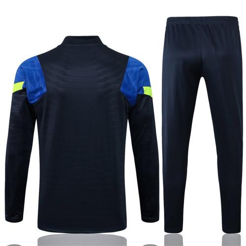 Tottenham Hotspur Training Jersey Suit 21/22 Blue