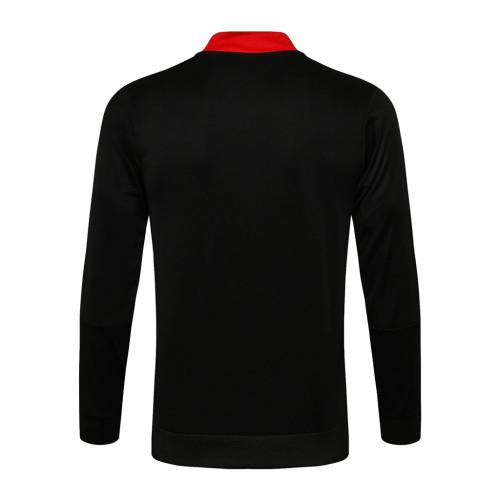 Manchester United Training Jacket 21/22 Black