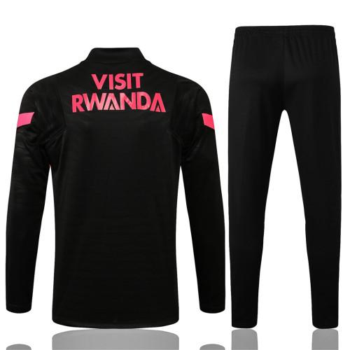 Paris Saint Germain Training Jersey Suit 21/22 Black