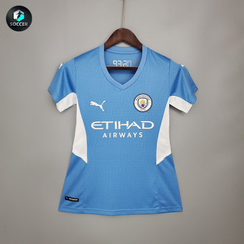 Manchester City Home Woman Jersey 21/22