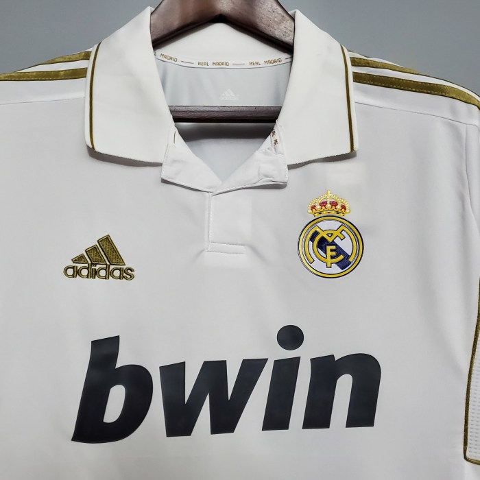 Real Madrid Home Retro Jersey 11/12