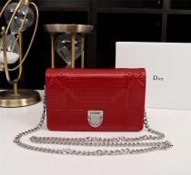 Diorss Woc Small Handbag Shoulder Bag Clutch Bags Red