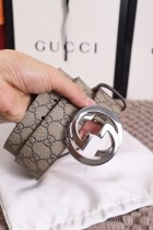 Gucciss GG Real Leather Men Women Belt
