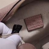 Gucciss Real Leather Soho Disco Bag 308364 Nude Pink