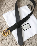 Gucciss Leather Belt With Double G Buckle