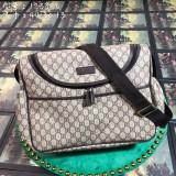 Gucciss GG Supreme diaper bag 123326