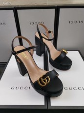 Gucciss Leather High heels Shoes 34-42 black